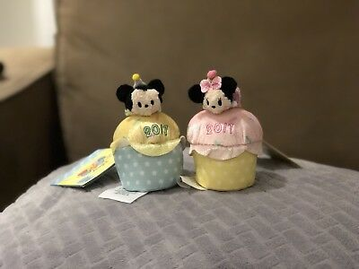Mickey Minnie Cupcake Scented 2017 Tsum Tsum Disney Store Complete With Tags