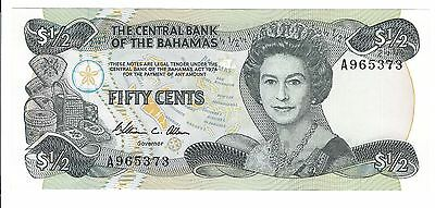 Fifty Cents Bahama Bank Note  (Unc)