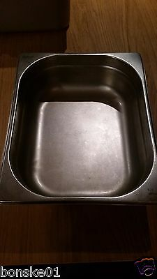 Steamer Pan 1/2 size steam table GenWare stainless