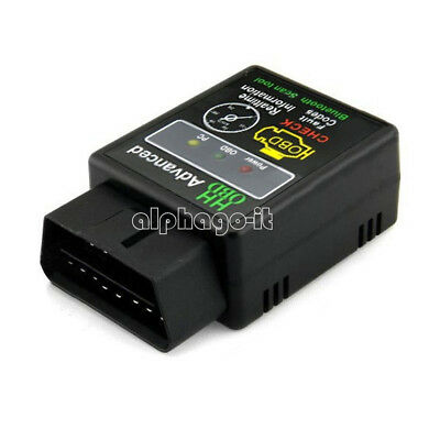 ELM327 V2.1 OBD-II Car Auto Bluetooth Diagnostic Interface Scanner Android NEW