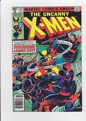 X-Men #133, May 1980, Marvel Comics, 1st Wolverine solo cover FN