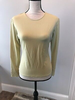French Connection Old Stock Vintage NWT Shirt Large Womens Yellow Rare!!!