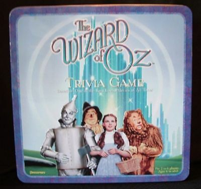 Wizard of Oz Trivia Collector's Tin only
