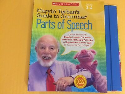 Marvin Terban's Guide to Grammar: Parts of Speech for Grades 3 - 6 (Homeschool)