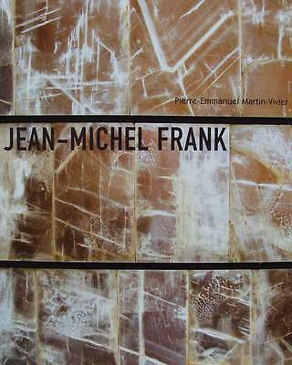 FRENCH BOOK : JEAN MICHEL FRANK (art deco furniture,chair,table,chest ..