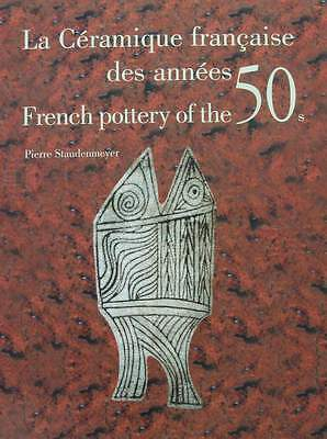 BOOK : FRENCH POTTERY OF THE 1950s (50s,mid century ceramics