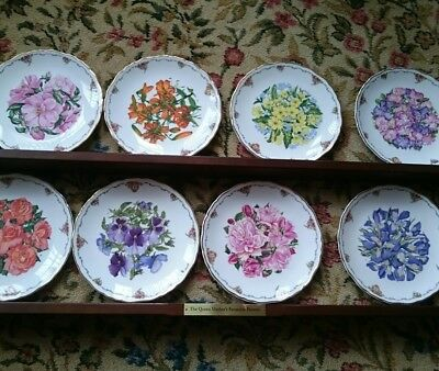 Royal Albert plate set with shelf - Portsmouth