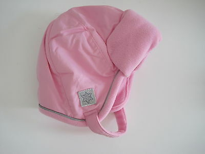 FADED GLORY Girl Pink Hat Sz 2T 3T 4T 5T Toddler Winter New