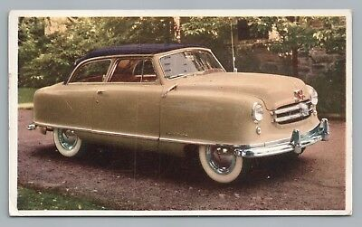 """Nash Airstyle """"Little Wagon You'll Be Wanting"""" Vintage Car Advertising—Baltimore"""