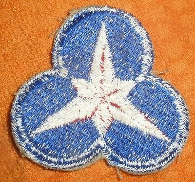 36th US Army Corps. Shoulder Patch WWII (Does Not Glow) Original
