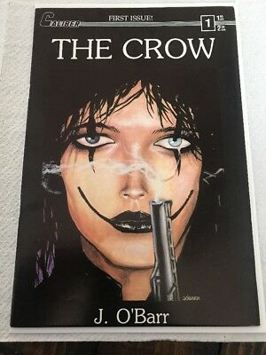 The Crow #1 Second 2nd Printing Caliber HTF