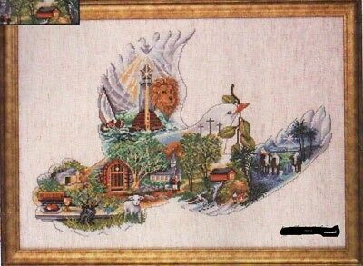 "DESIGN WORKS ""DOVE OF PEACE""CROSS STITCH KIT  Kreuzstich-Stickpackung 38х53 CM"