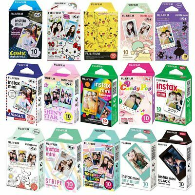 Fujifilm 10-20 Prints Instax Instant Color Photo Film For Fuji Mini 8 & 9 Camera
