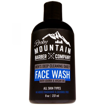Face Wash Cleanser For Men - Canadian Made - Non-Irritating Sensitive Hydrating