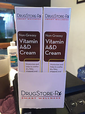 LOT OF 6 NEW Vitamin A&D Ointment, Diaper Rash Cream 1.5 oz tubes Factory Sealed
