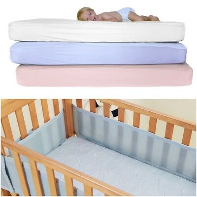 2 or 4 x Cot 100% Cotton Jersey Fitted Sheet. Size 70 X 140 cm