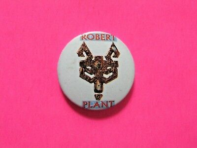 Robert Plant Led Zeppelin Vintage Button Pin Badge Not Patch Shirt Cd Lp  Uk
