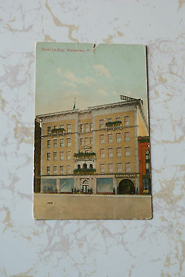 Old Vintage Antique 1909 Postcard Hotel Le Ray Watertown New York NY Wonderland