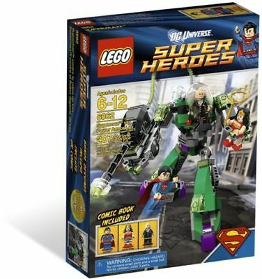 NEW LEGO 6862 - SUPER HEROES SUPERMAN VS. POWER ARMOR LEX - NEW IN BOX! retired