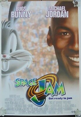 Space Jam (1996) Original International Movie Poster  -  Rolled