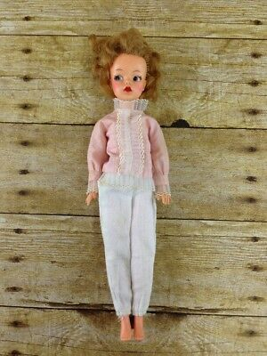 """Vtg 60s Ideal Toy 12"""" Tammy Doll & Clothes Outfit"""