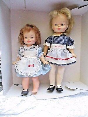 Advertising Dolls 1970 Miss Sunbeam and 1972 Little Debbie Horseman Baby Dolls