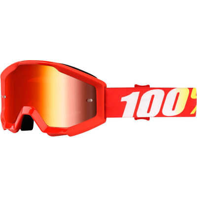 100% Prozent Goggle Enduro MX Brille Cross Strata Junior Kinderbrille Furnace