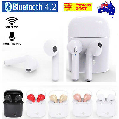 Wireless Bluetooth Earphone Stereo in Earbud Headset For Apple Airpods