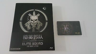 Elite Squad The Enemy Within Blu-ray Steelbook Viva Metalbox Blufans Exclusive