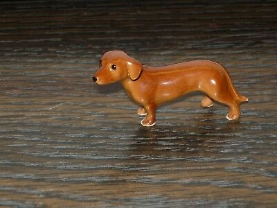 Hagen Renaker Mama Dachshund Dog Ceramic Miniature Animal Figurine