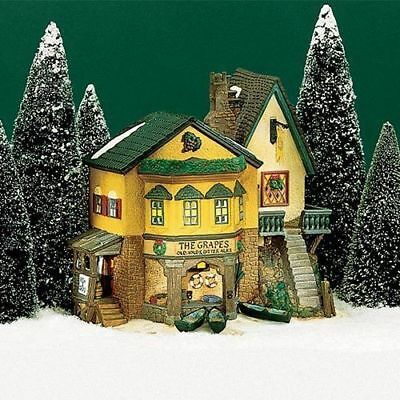 Dept 56 Dickens Village The Grapes Inn #57534 Never Displayed