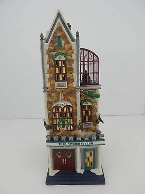 Dept 56 Dickens Village The Univeristy Club #58945 Never Displayed