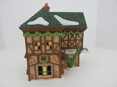 Dept 56 Dickens Village T. Puddlewick Spectacle Shop #58331 Never Displayed