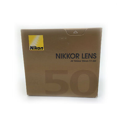 New Nikon AF NIKKOR 50mm f/1.8D Lens - FREE NEXT DAY UK DELIVERY