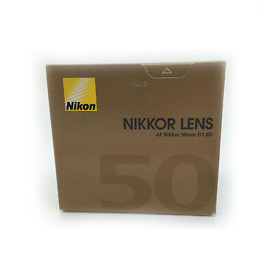 Nikon AF NIKKOR 50mm f/1.8D Lens - FREE NEXT DAY UK DELIVERY