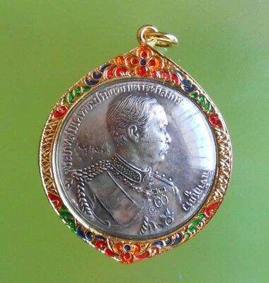 Old Beautiful Antique King Rama V Hot Pendant Very Rare !!!
