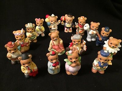 Lot of 15 HOMCO Bears