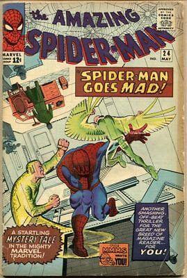 Amazing Spider-Man #24 - VG-