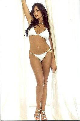 Sofia Vergara - In A White Bikini, Posing With Heels !!!