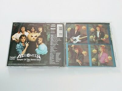 Helloween CD Keeper of the Seven Keys, Pt. 1 RCA 6399-2-R part i one