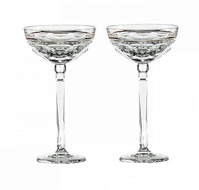 Waterford  ELYSIAN  CHAMPAGNE  COUPE Pair  New / BOX