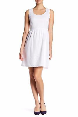 Nwt Joe Fresh Sleeveless Eyelet Dress Sz 8 Size New White Womens Dress