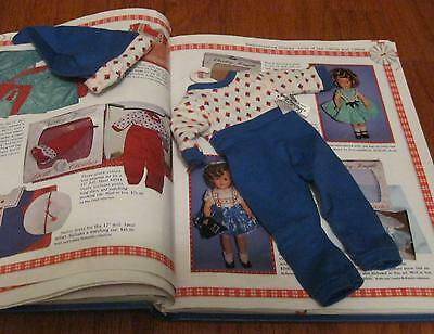 SHIRLEY TEMPLE IDEAL BLUE TAGGED PAJAMAS w/ CAP & HANGER FOR ST-12  DOLL
