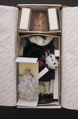 SHIRLEY TEMPLE LIMITED EDITION COLLECTOR 75TH BIRTHDAY DANBURY MINT DOLL  w/BOX