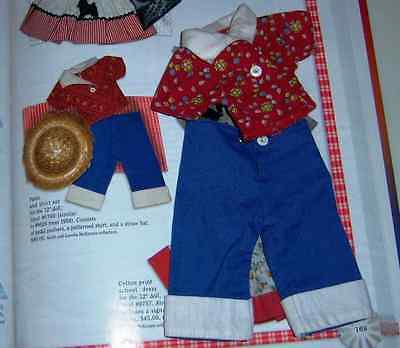 Shirley Temple Ideal Pedal Pushers & Shirt Set For St-12 Doll