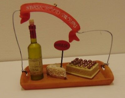 Ornament For the Wine and Snack Lover In All Of Us!!!