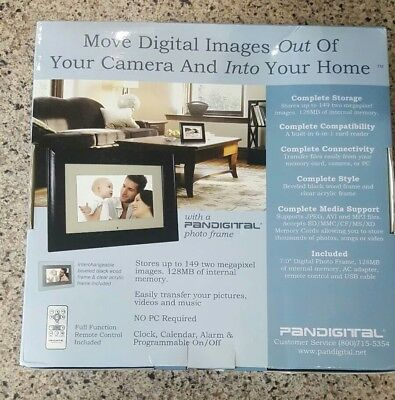 "Pandigital PAN707 7"" Digital Picture Frame"