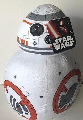 "Star Wars BB-8 17/"" Jumbo Plush with Rotating Head Licensed The Force Awakens"