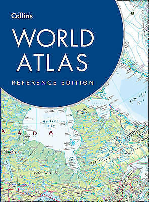 Collins World Atlas: Reference Edition by Collins Maps (Hardback, 2016)