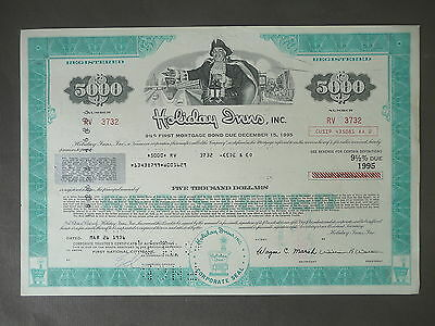 Anleihe Bond Holiday Inn Inc. 5000 Dollar 1976